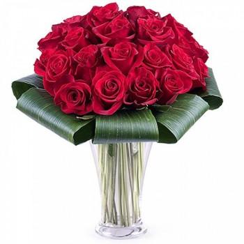 Μπουκέτο με 20 Κόκκινα Τριαντάφυλλα